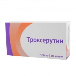 Троксерутин, капс. 300 мг №30